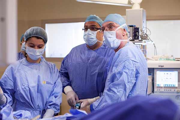 Cáncer de próstata laparoscópico Campania 2