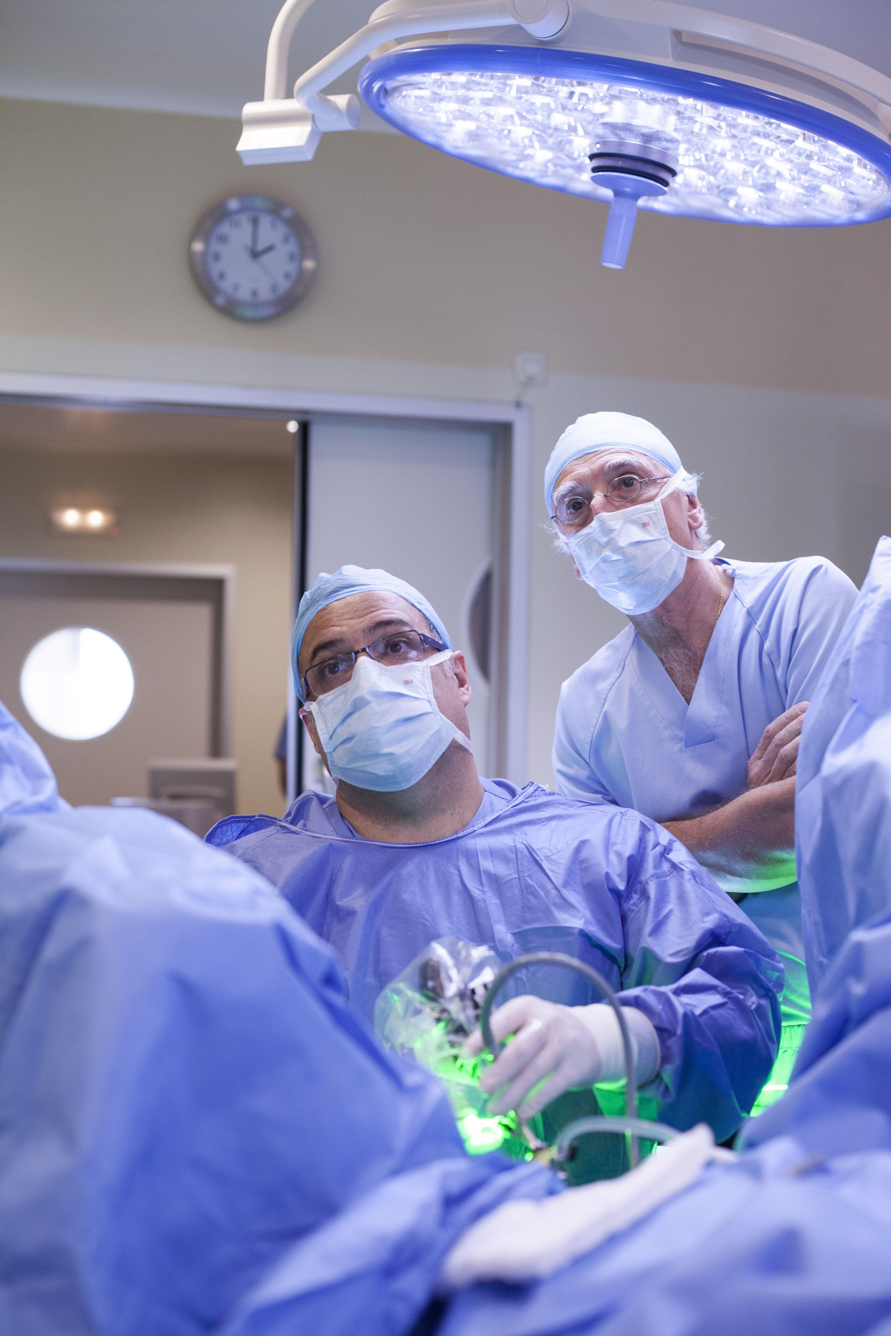 donde la cirugía de próstata se realiza con láser en