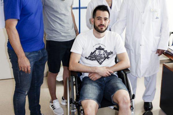 Rafael Rato lesion de tendon