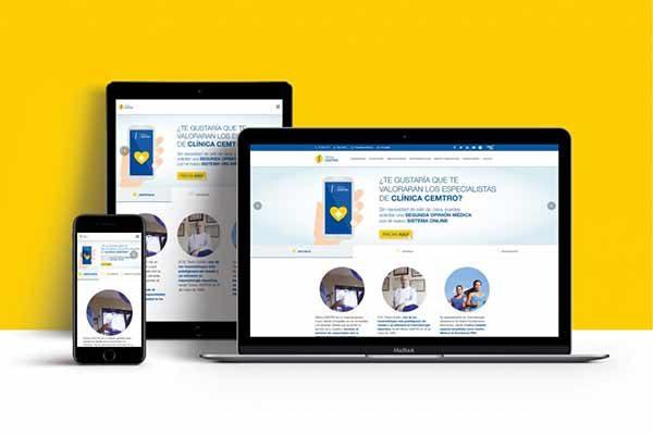 Nueva web Clinica Cemtro