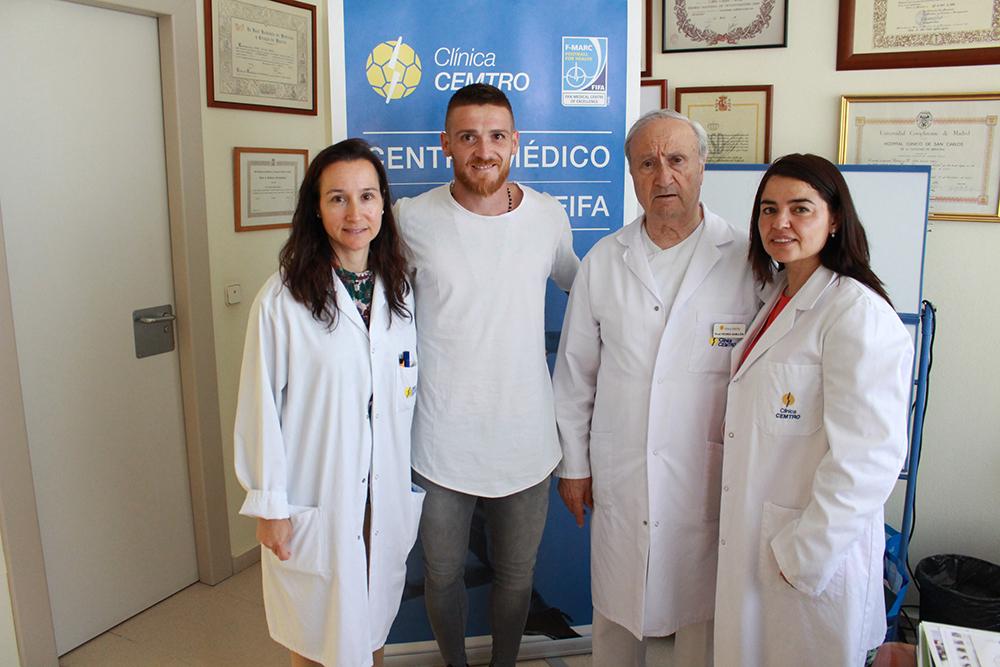 Reconocimiento Medico Nuevos Fichajes Futbol