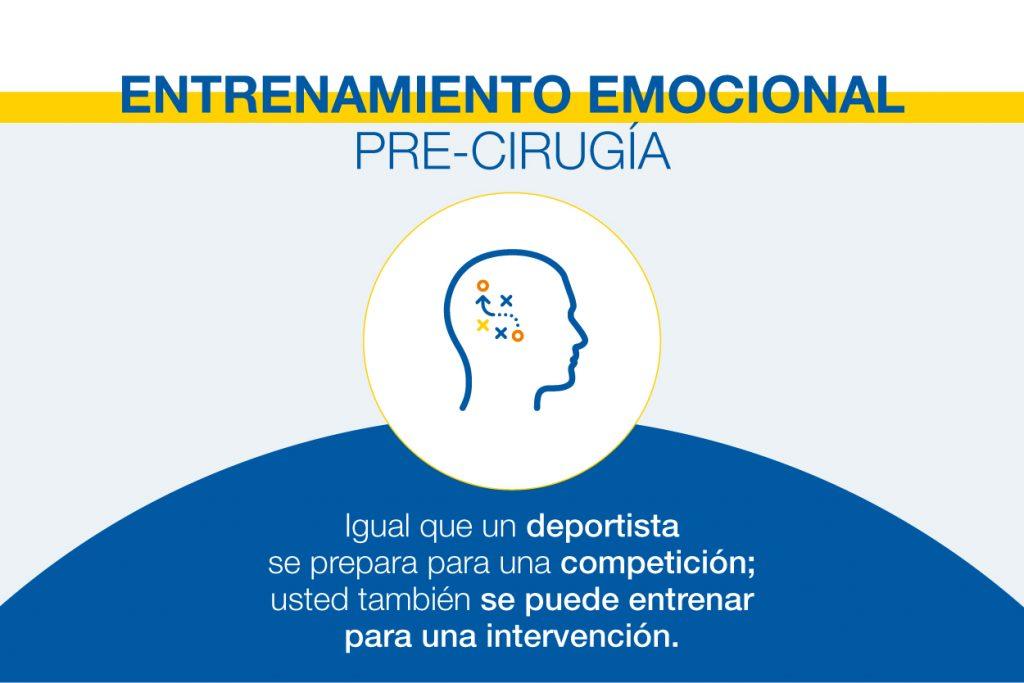 Entrenamiento Emocional Pre-Cirugia