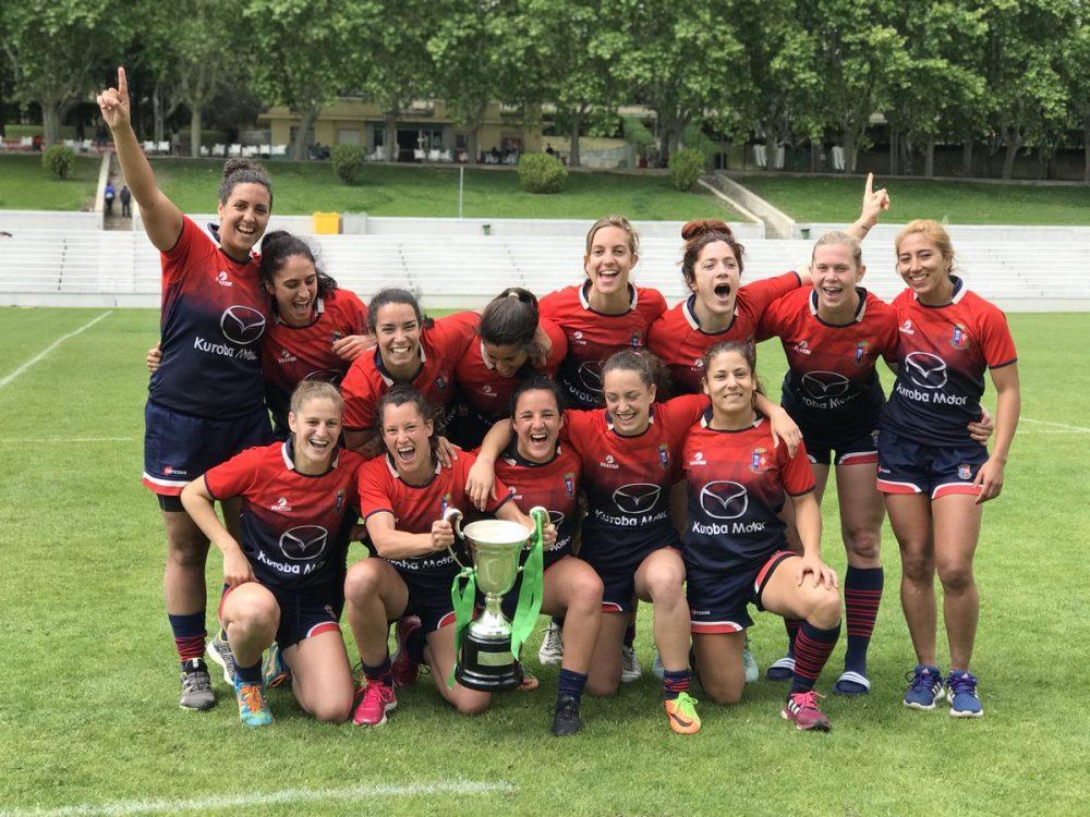 Ester Riesco Copa de la Reina Rugby
