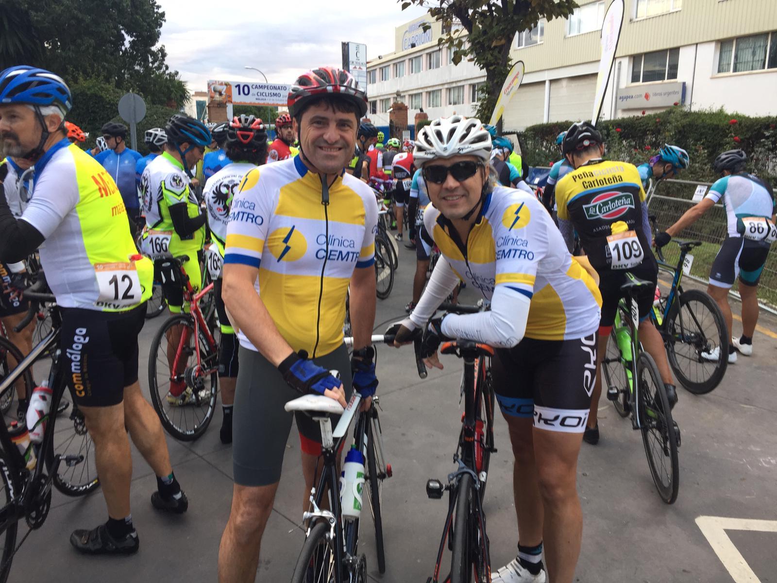 Clinica Cemtro Campeonato España Ciclismo para Medicos