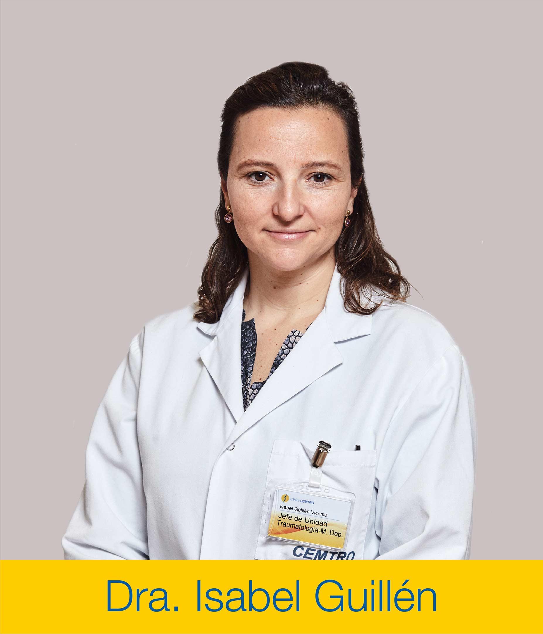 Dra Isabel Guillen Condropatia Lesion