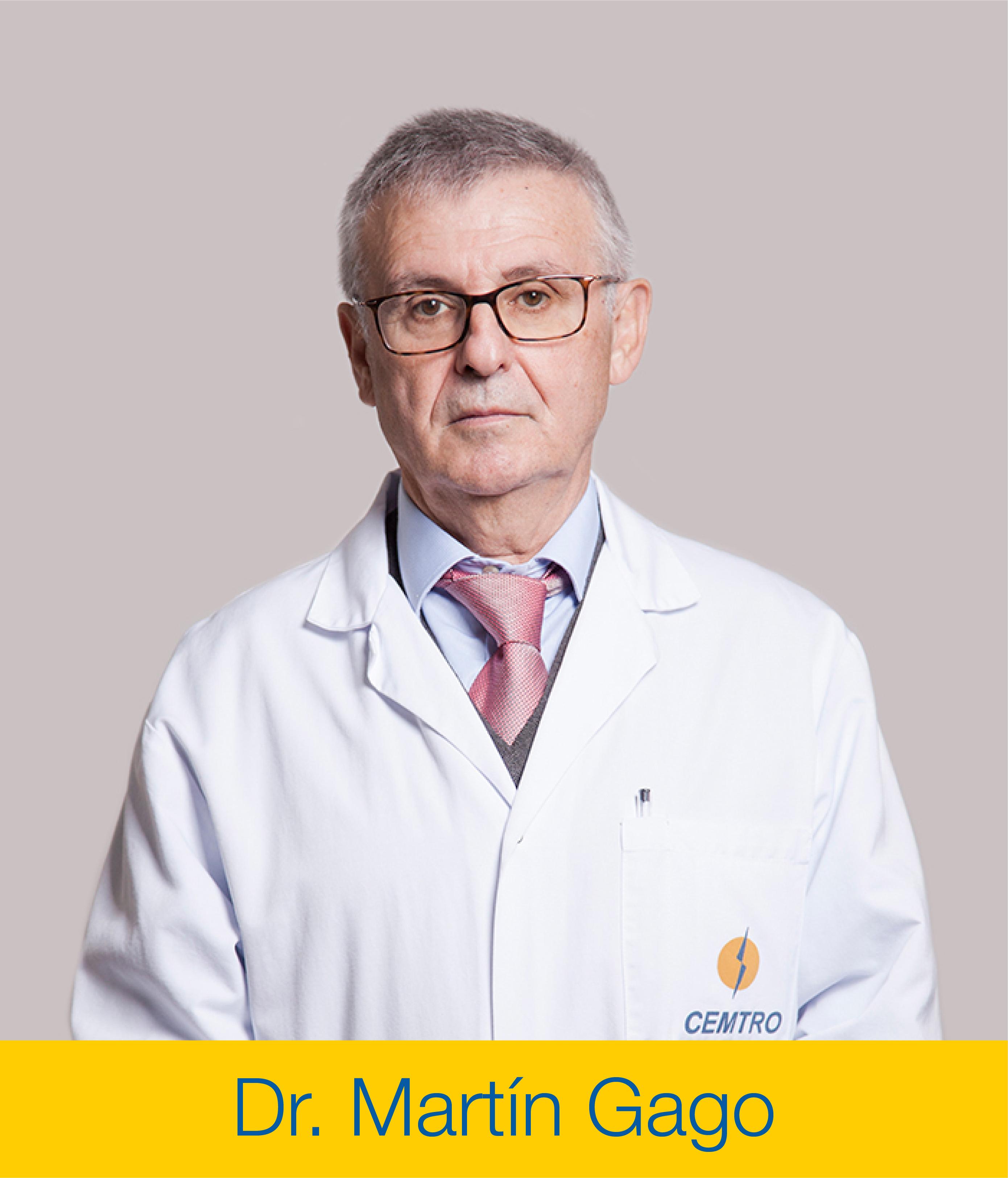 Dr Martin Gago Recambio Protesis