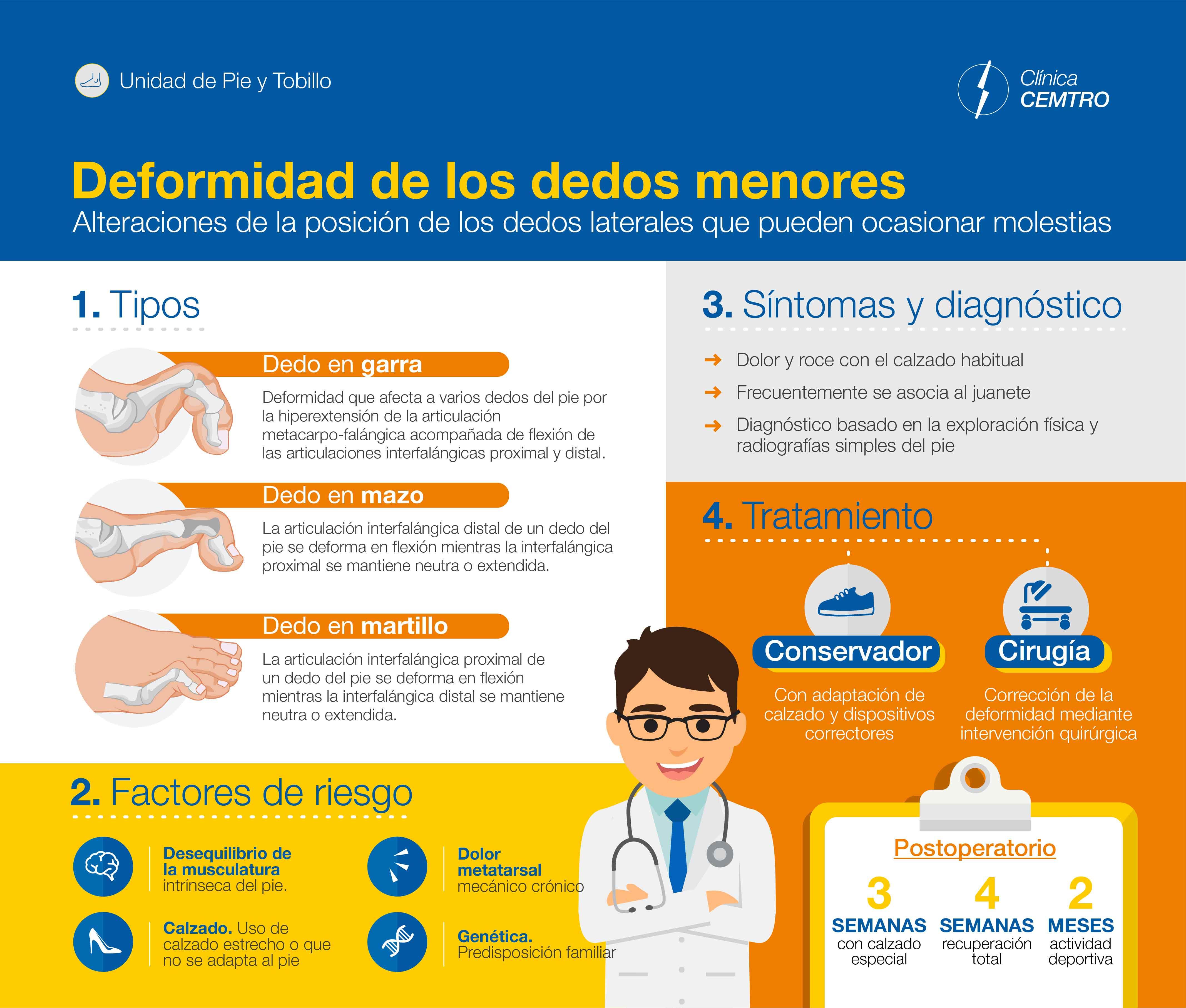 Infografia Dedo Garra Martillo
