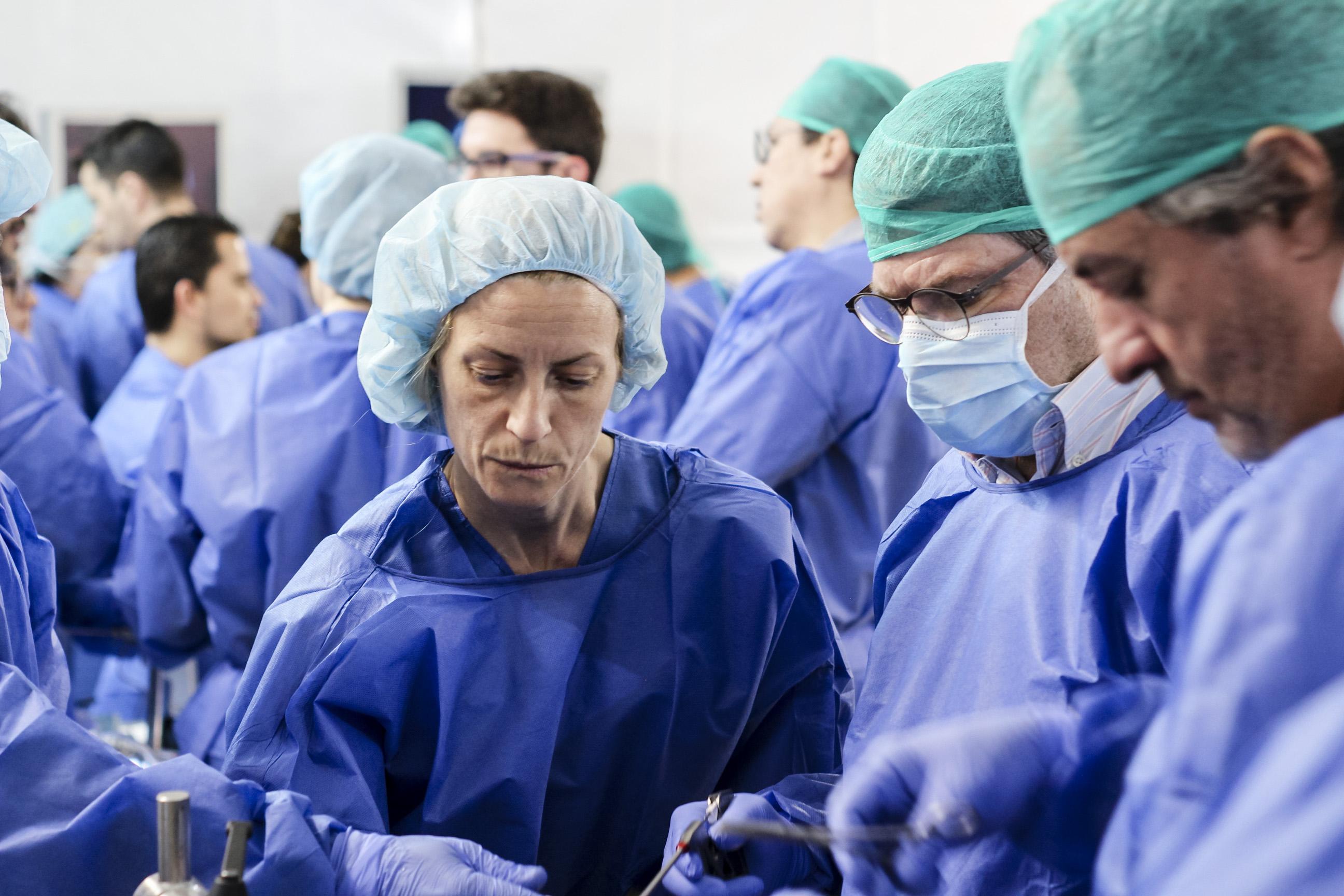 Practicas curso artroscopia compleja CEMTRO