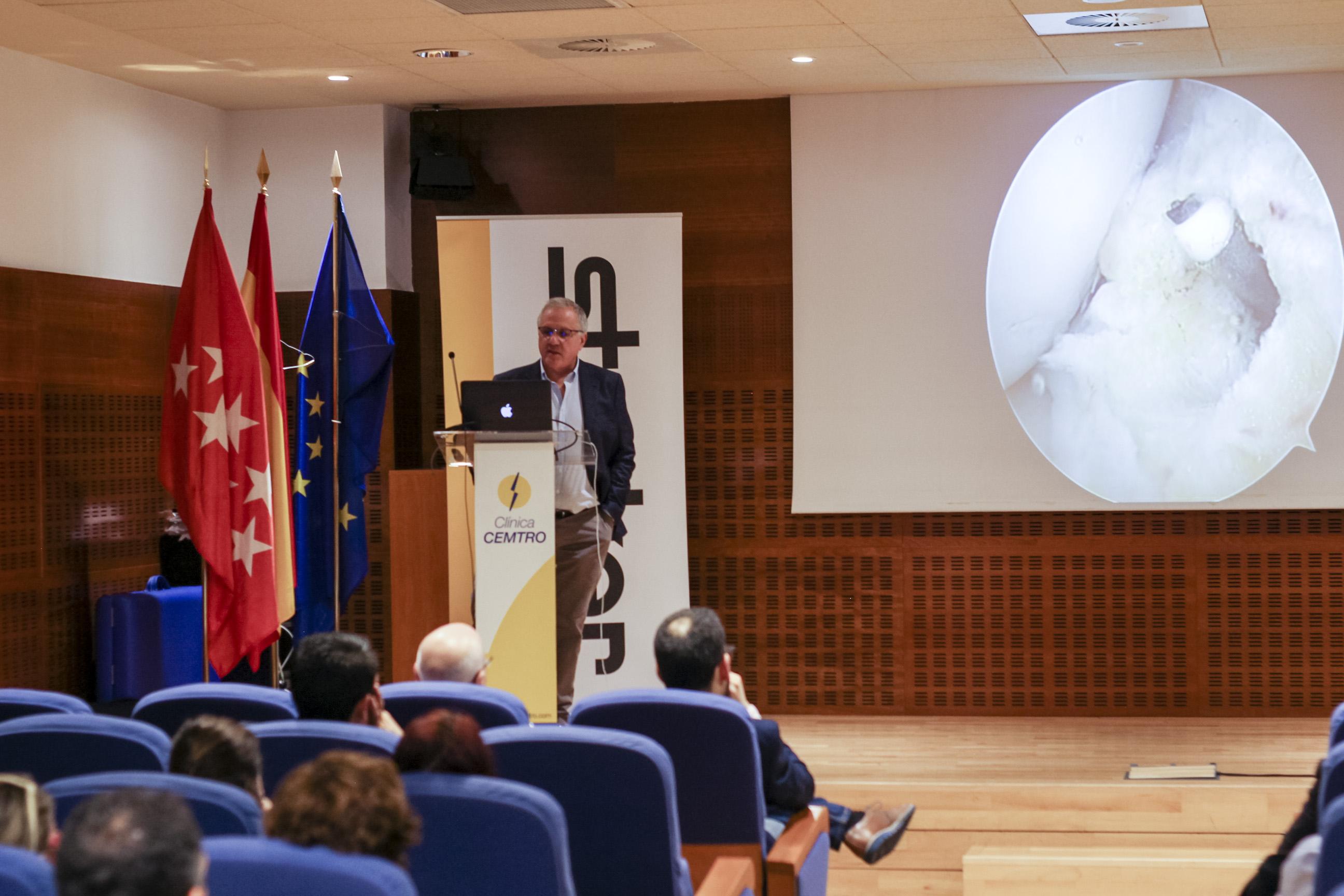 Curso de Artrocopia celebrado en Clinica CEMTRO