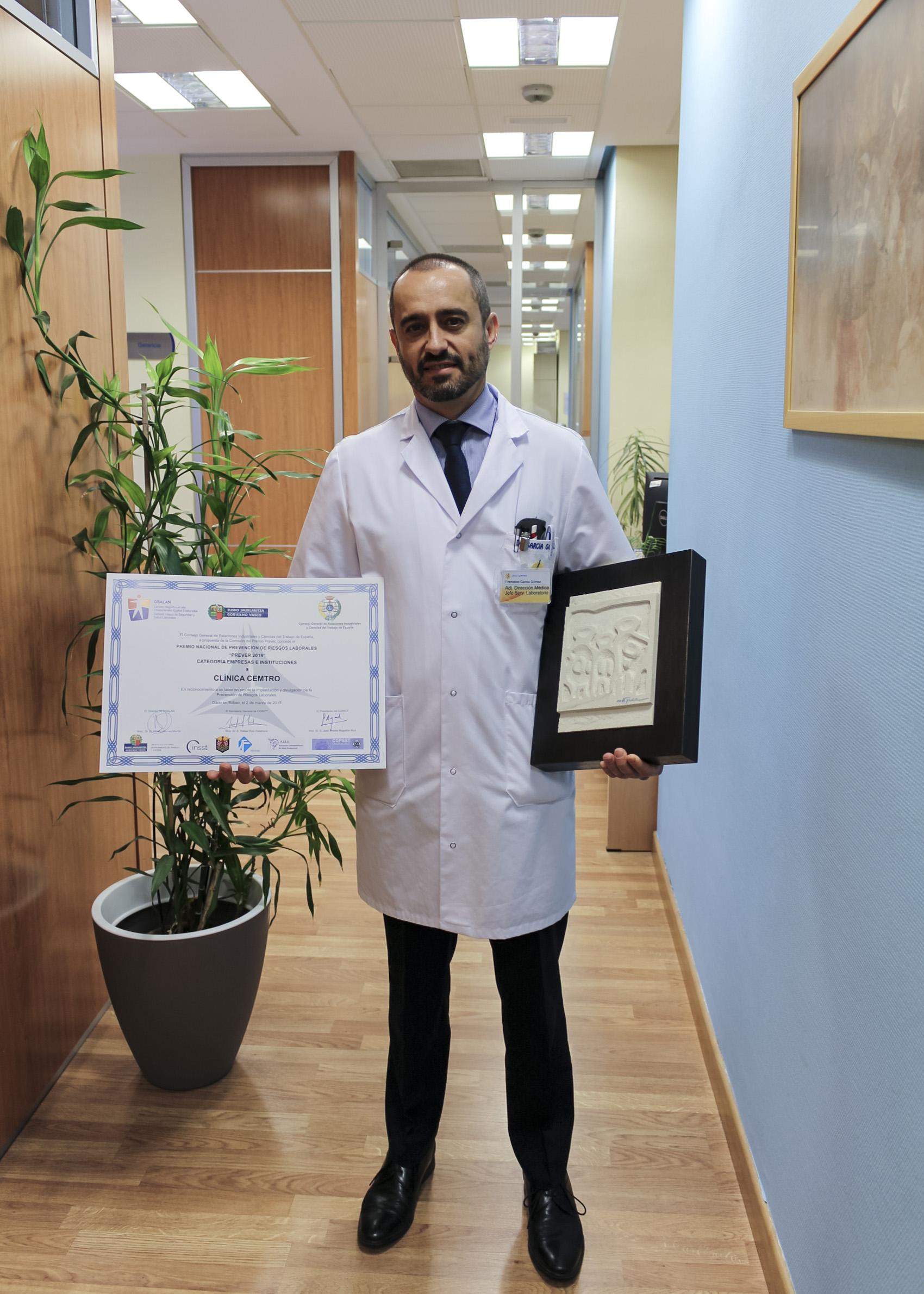 Clinica CEMTRO Premio Prever 2018