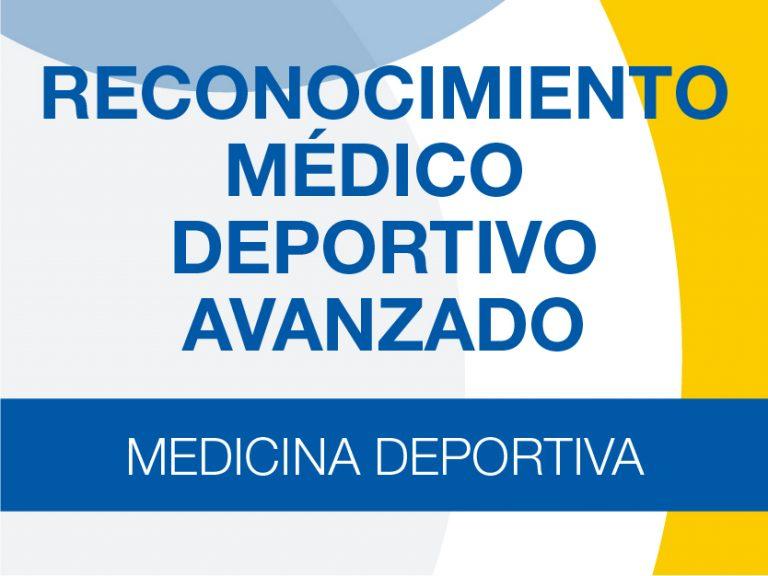 Precio Cerrado Reconocimiento Médico Deportivo Experto