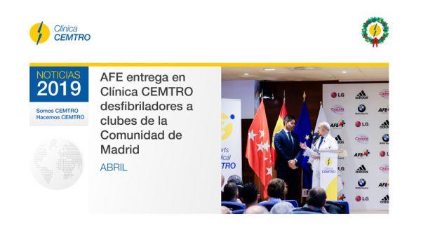 Desfibriladores Equipos Madrid