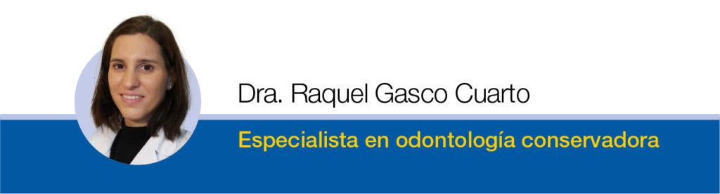 Raquel Gasco Cuarto Odontologia Madrid Norte
