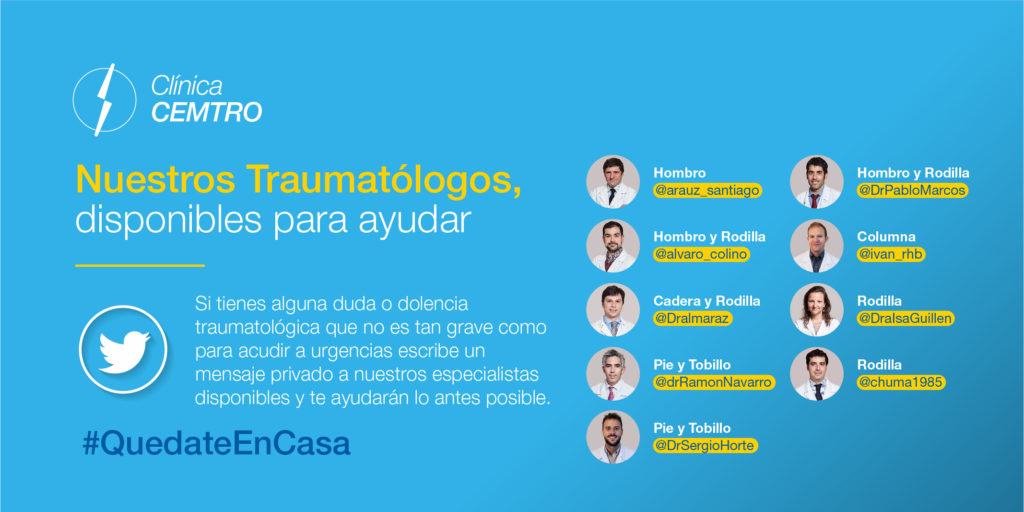traumatologos coronavirus ayuda