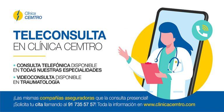 Teleconsultas Medicas en CEMTRO