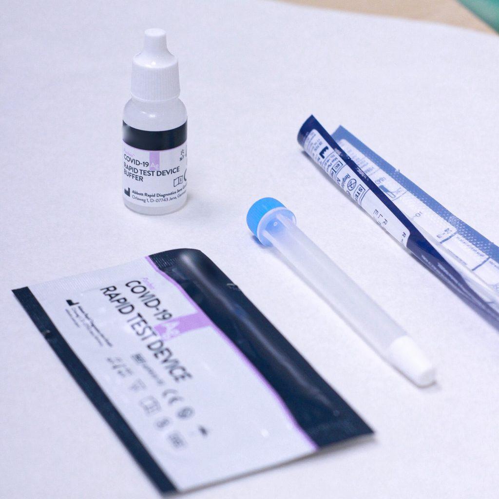 Test Antigenos Madrid