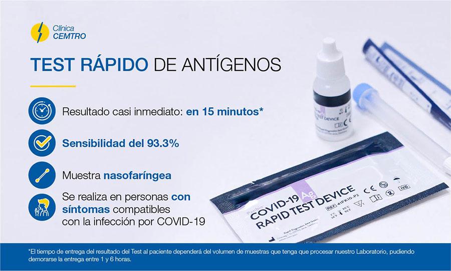 Test Rapido de Antigeno Madrid