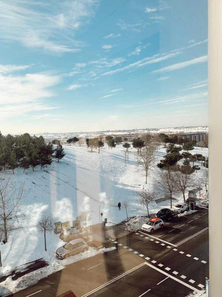 cemtro temporal nieve filomena