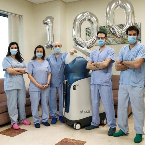 cemtro cirugia protesis rodilla mako