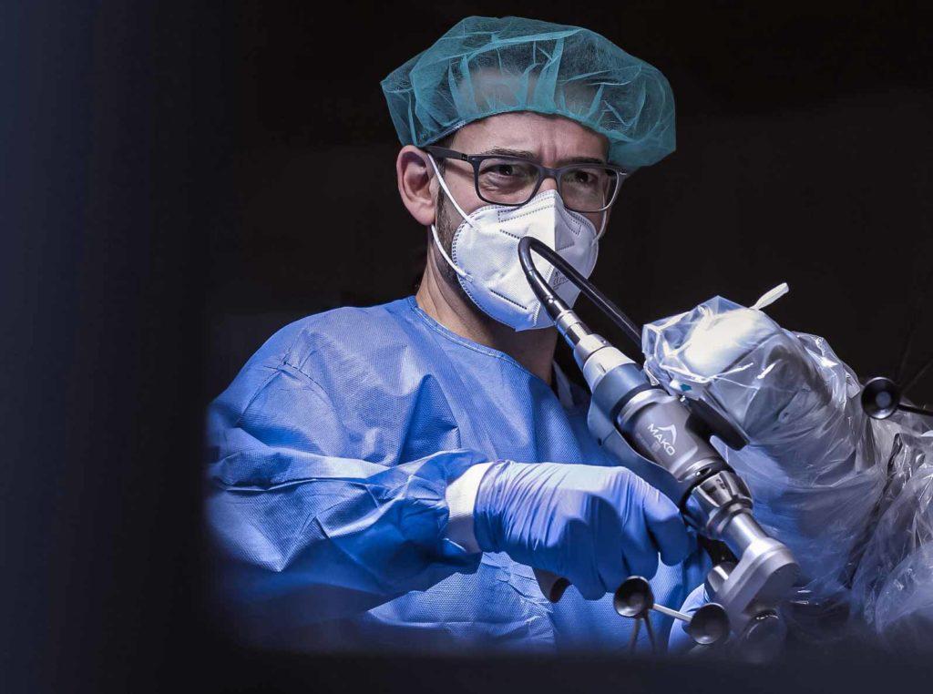 postoperatorio cirugia protesis de rodilla