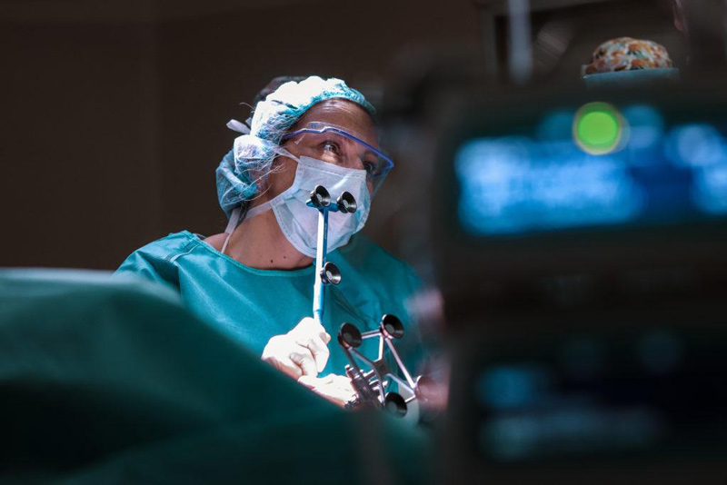 gonartrosis severa rodilla protesis total