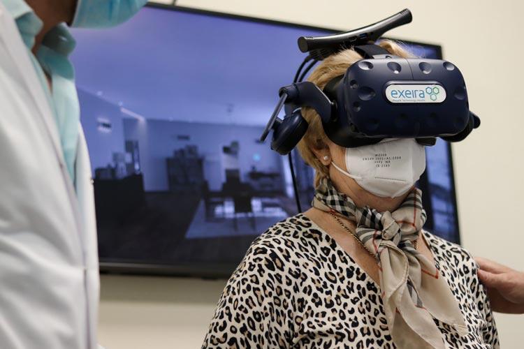 exeira realidad virtual rehabilitacion cemtro