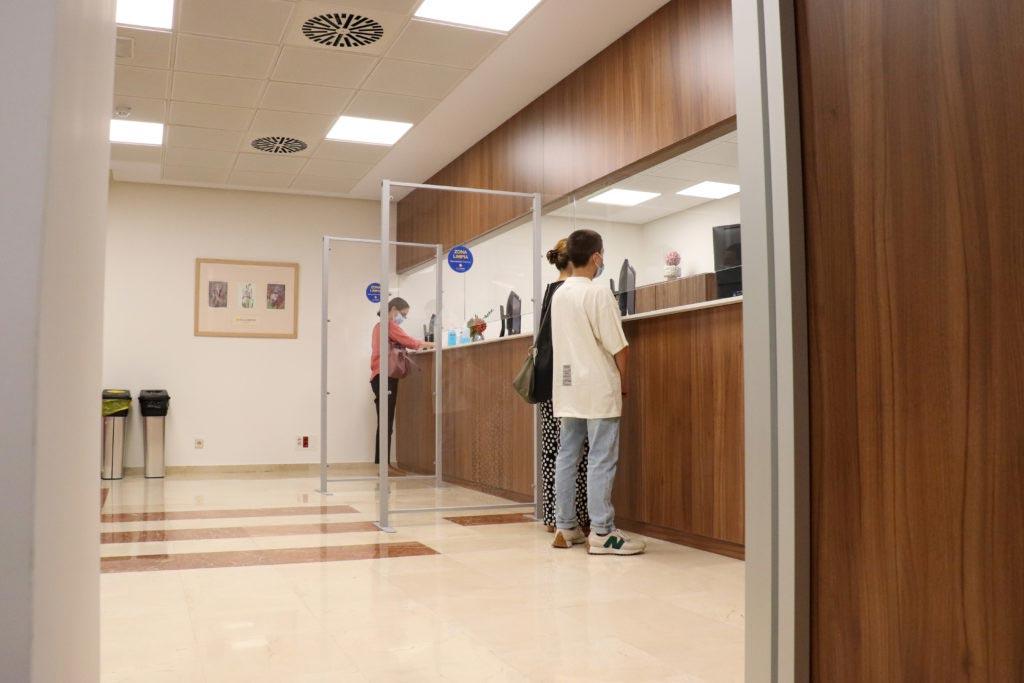 recepcion nueva adminision cemtro